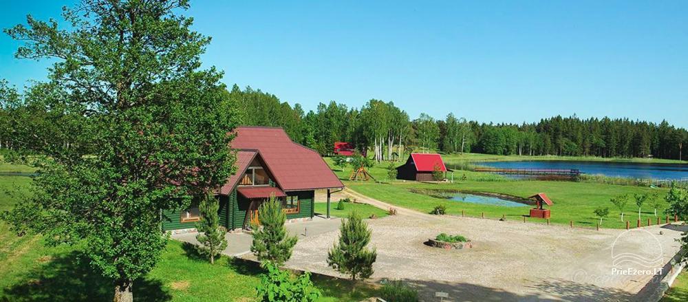 Homestead Minavuonė in Telsiai region at the lake - 1
