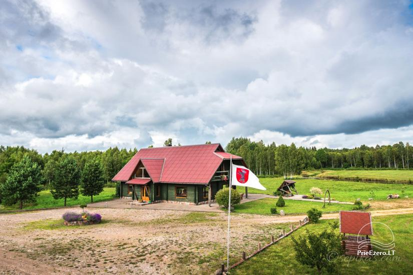 Homestead Minavuonė in Telsiai region at the lake - 11