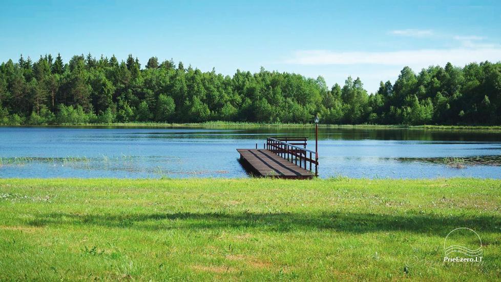 Homestead Minavuonė in Telsiai region at the lake - 15