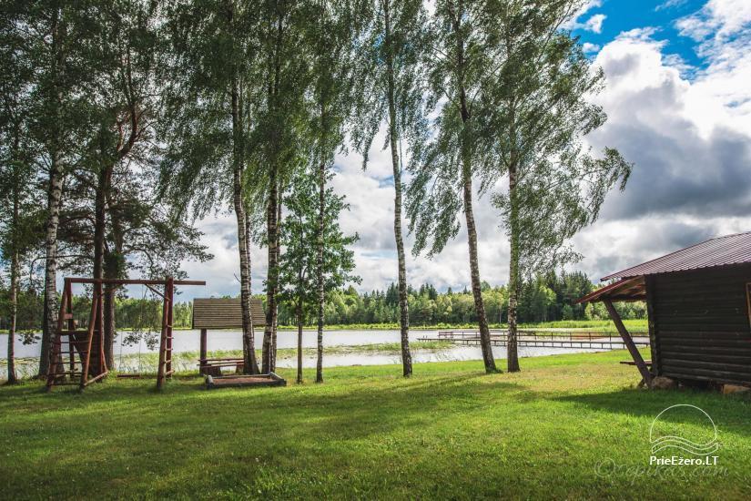 Homestead Minavuonė in Telsiai region at the lake - 19