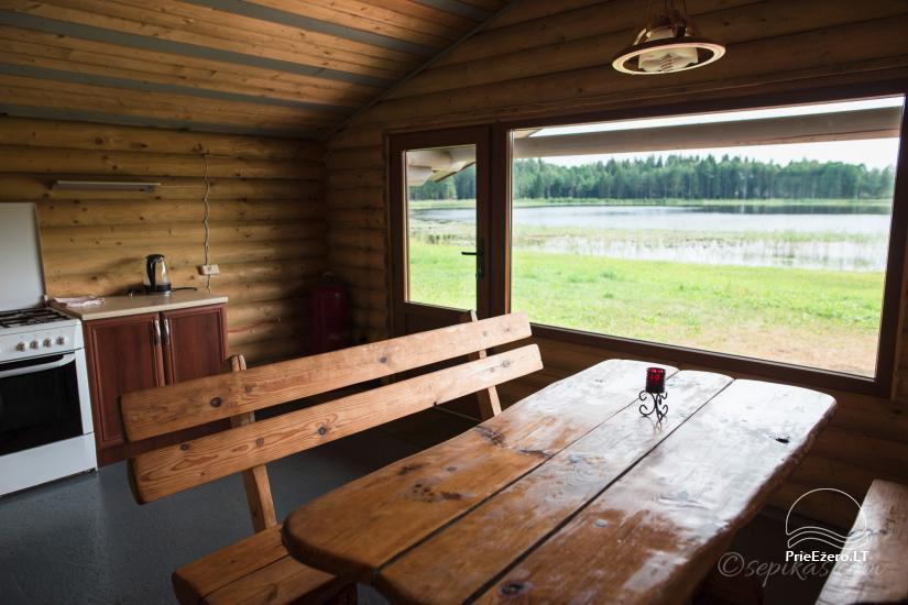 Homestead Minavuonė in Telsiai region at the lake - 22