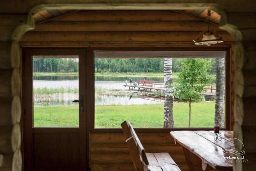 Homestead Minavuonė in Telsiai region at the lake - 23