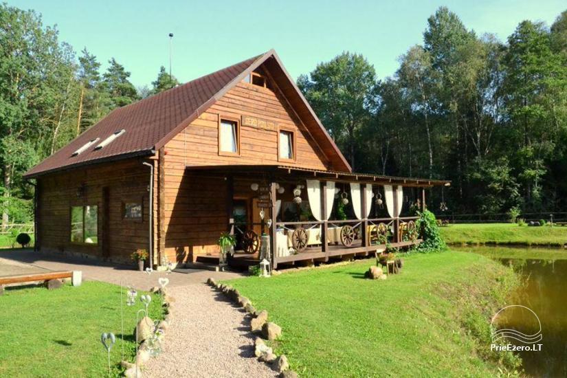 Gehoft in Panevezys Bezirk Miško oazė - 1
