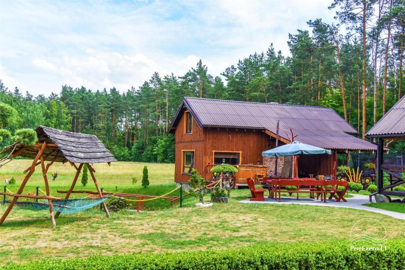 Urlaub in Litauen, Landhaus in Sulute Bezirk Rudynu Sodyba - 1