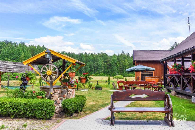 Urlaub in Litauen, Landhaus in Sulute Bezirk Rudynu Sodyba - 6
