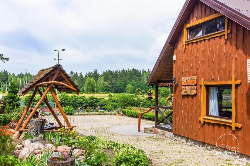 Urlaub in Litauen, Landhaus in Sulute Bezirk Rudynu Sodyba - 5
