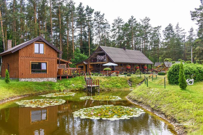 Urlaub in Litauen, Landhaus in Sulute Bezirk Rudynu Sodyba - 4