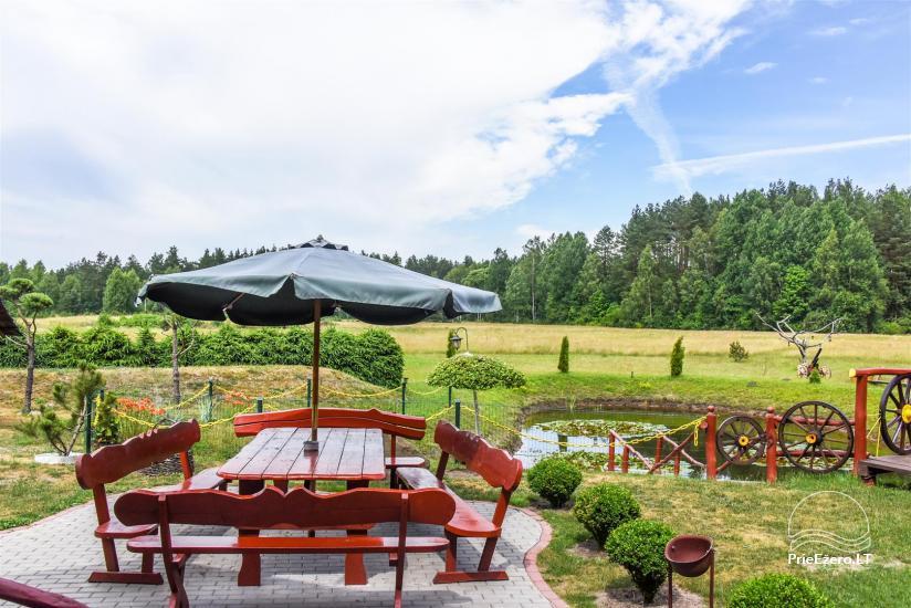 Urlaub in Litauen, Landhaus in Sulute Bezirk Rudynu Sodyba - 7