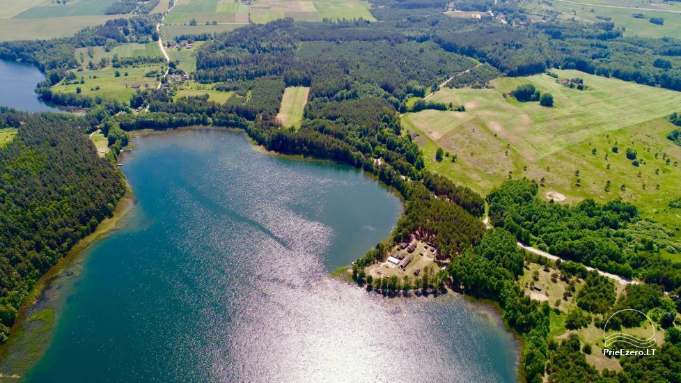 Усадьба у озера, в районе Лаздияй Tėviškė - 10
