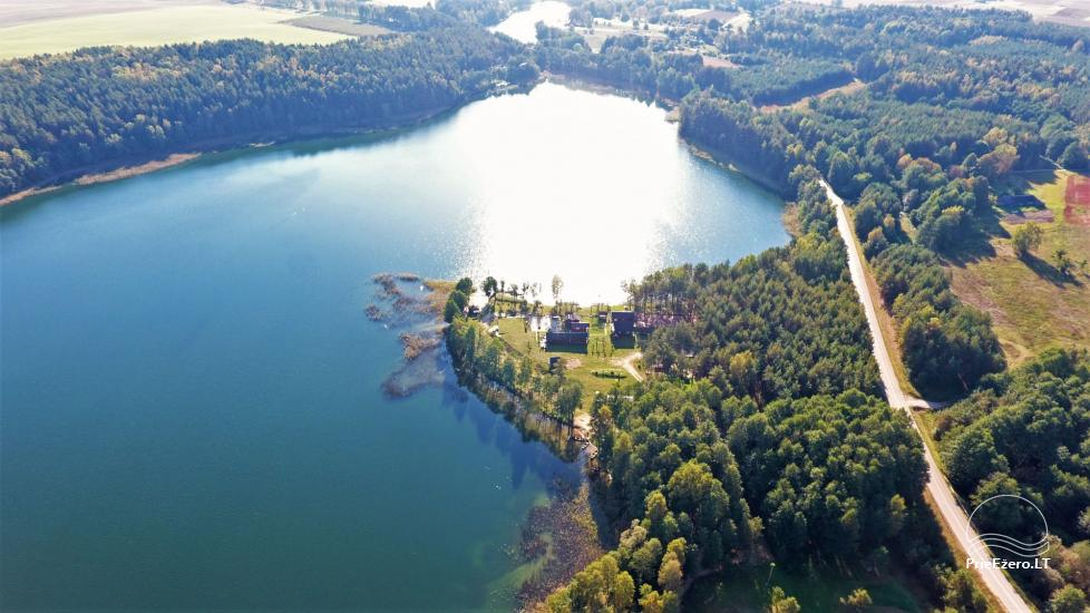 Усадьба у озера, в районе Лаздияй Tėviškė - 6