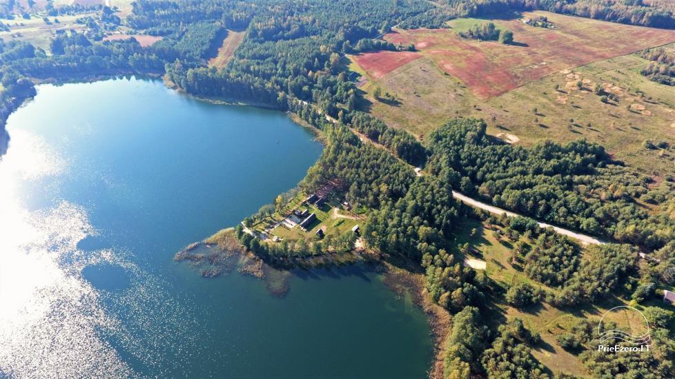 Усадьба у озера, в районе Лаздияй Tėviškė - 5