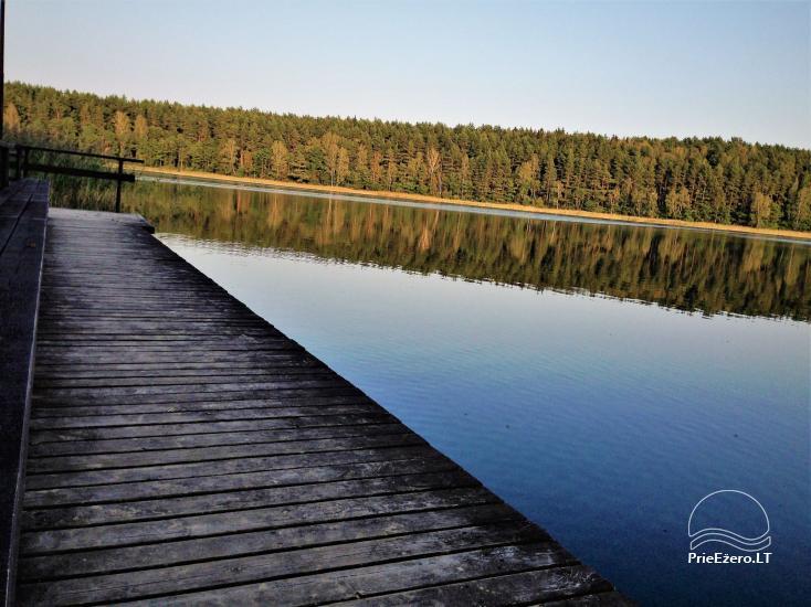 Homestead by the lake, in Lazdijai area Tėviškė - 10