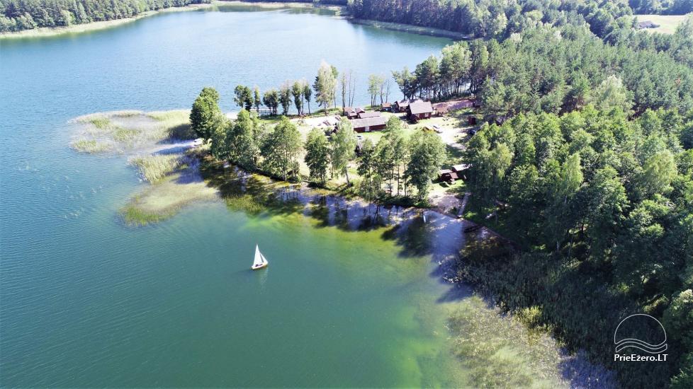 Усадьба у озера, в районе Лаздияй Tėviškė - 7