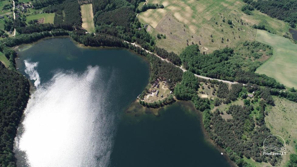 Усадьба у озера, в районе Лаздияй Tėviškė - 8