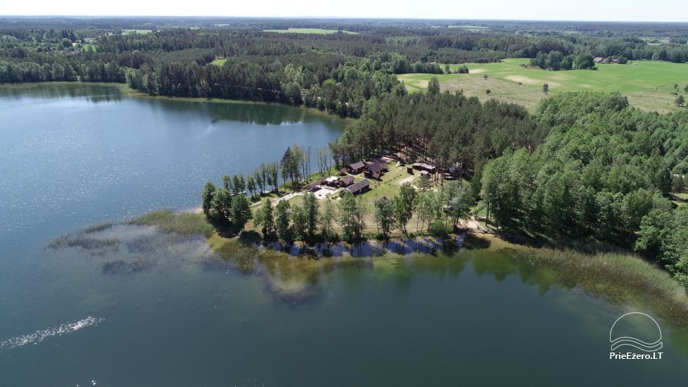 Усадьба у озера, в районе Лаздияй Tėviškė - 9