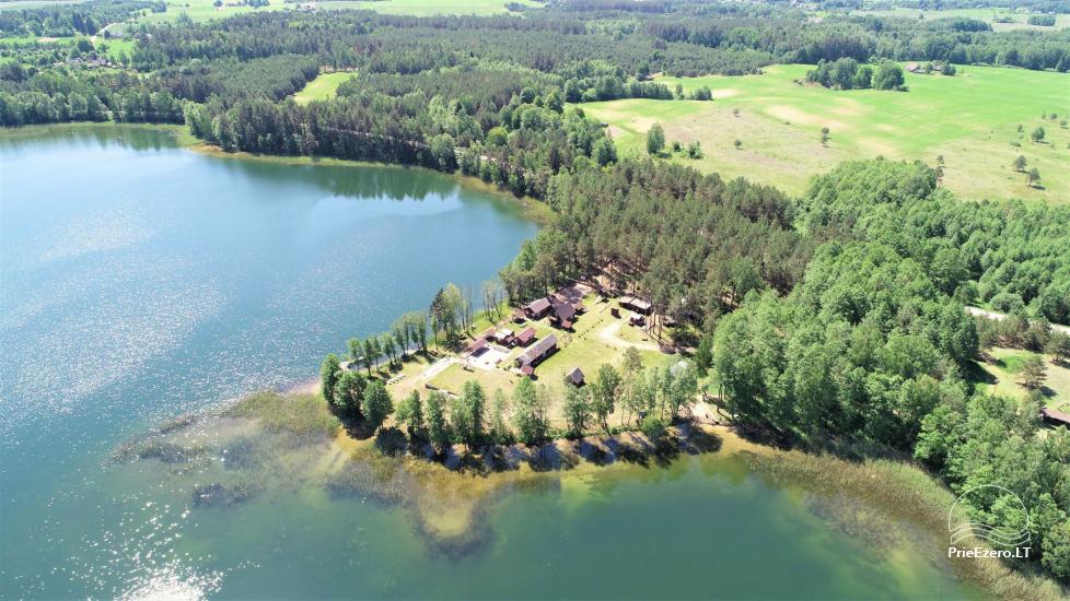 Усадьба у озера, в районе Лаздияй Tėviškė - 1