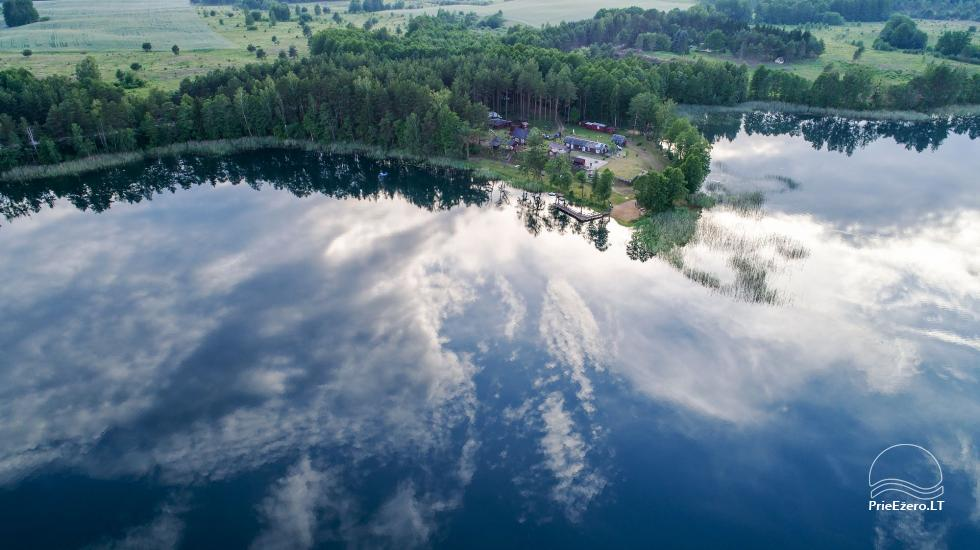 Homestead by the lake, in Lazdijai area Tėviškė - 5