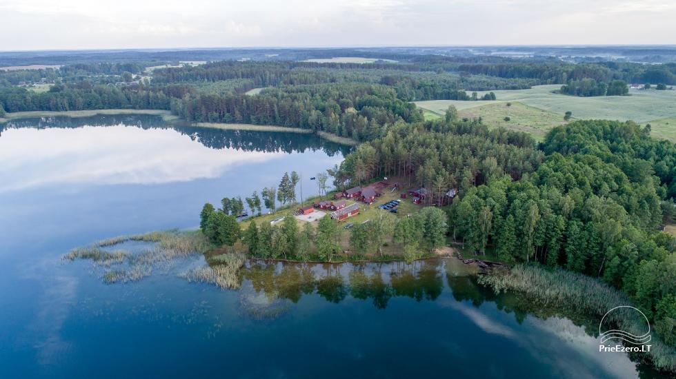 Homestead by the lake, in Lazdijai area Tėviškė - 6