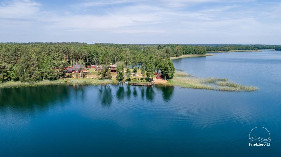 Anwesen am See, in Lazdijai Bereich Tėviškė - 8