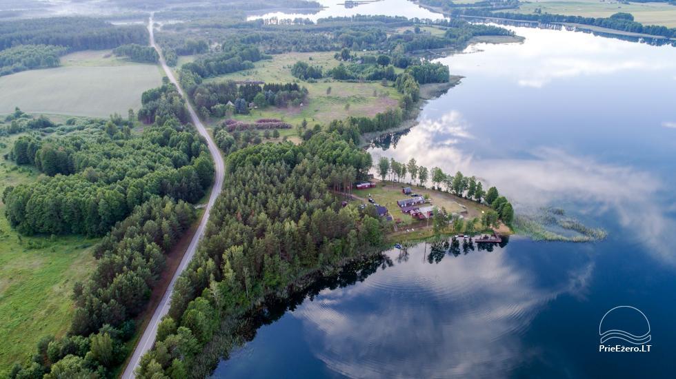 Homestead by the lake, in Lazdijai area Tėviškė - 2