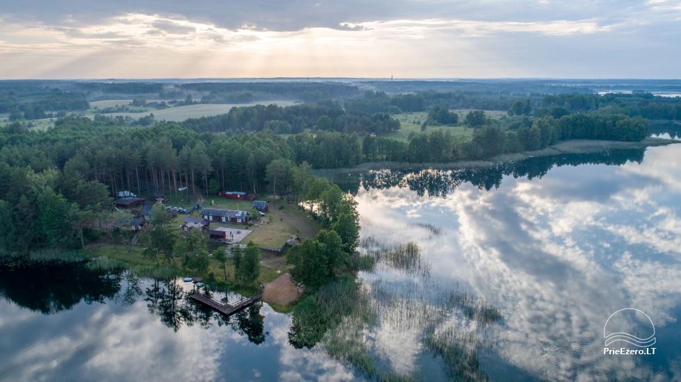 Anwesen am See, in Lazdijai Bereich Tėviškė - 9