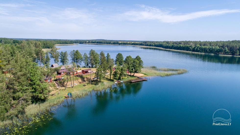 Anwesen am See, in Lazdijai Bereich Tėviškė - 5