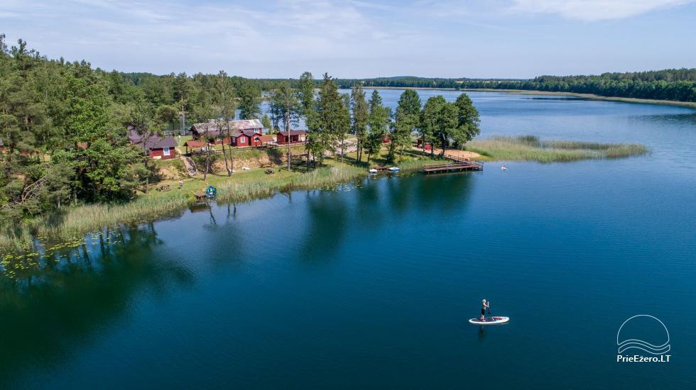 Anwesen am See, in Lazdijai Bereich Tėviškė - 10