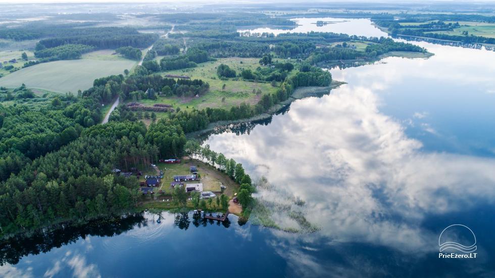 Homestead by the lake, in Lazdijai area Tėviškė - 4