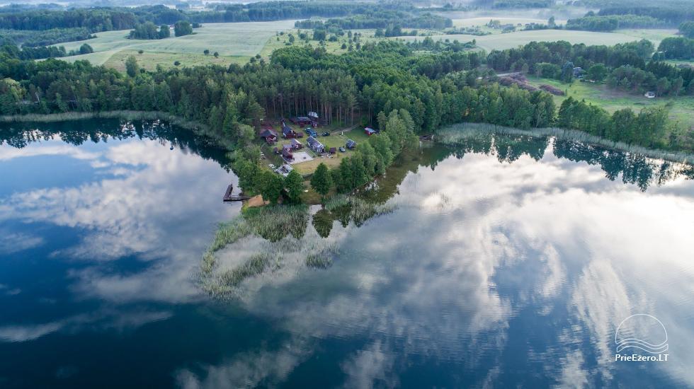 Homestead by the lake, in Lazdijai area Tėviškė - 3