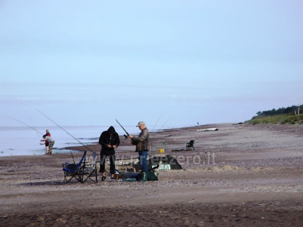 "Fishing in the lake Pape in Latvia, boat rent for fishermen. Holiday home in Liepaja region ""Aulaukio Baltija"""