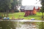 Edmund Dapkus homestead in Ignalina region at the lake