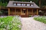 "Homestead in Trakai region on the shore of a lake ""Royal Villa"""