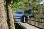 Juniper valley in Kaunas lagoon regional park