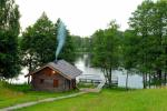 Łaźni i jacuzzi w gospodarstwie Holland Park na brzegu jeziora - 7