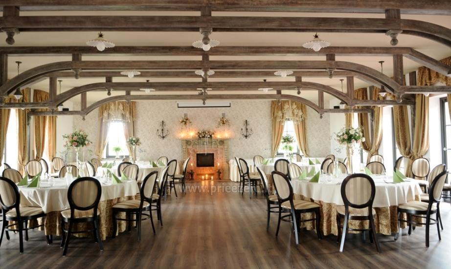 Exclusive restaurant RUSNE VILLA cuisine for your event - 14