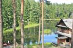 "Villa with sauna and rooms near the lake Plateliai ""Saules slenis"""