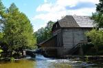 Ginučiai water mill