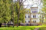 Belvederis Manor und Park
