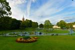 Kneipp path park in Birstonas