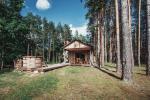 """Sauna und einen Jacuzzi auf dem Land Heimstätte """"Pušų takas"""""""