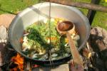 Educational program - fish soup cooking in Ignalida d. - Gaidelių sodyba