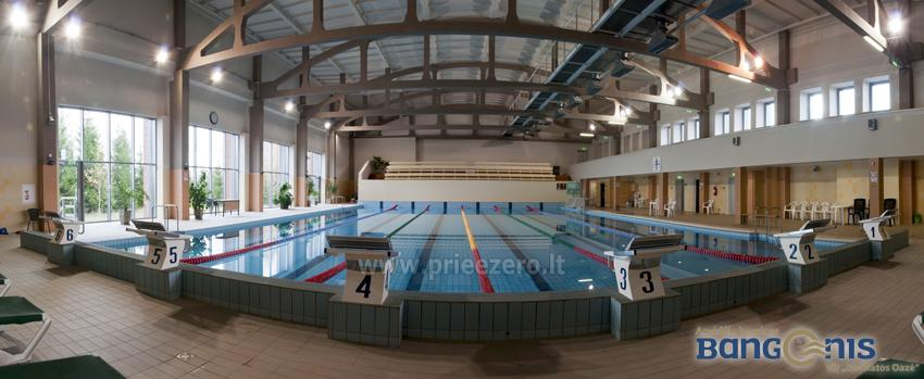 Swimming pool Bangenis in Anyksciai. Gym, baths, jacuzzi - 4