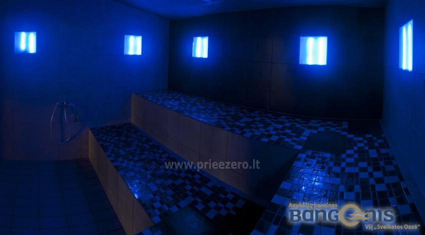 Swimming pool Bangenis in Anyksciai. Gym, baths, jacuzzi - 16