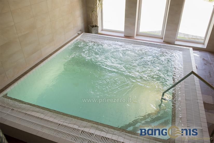 Swimming pool Bangenis in Anyksciai. Gym, baths, jacuzzi - 9