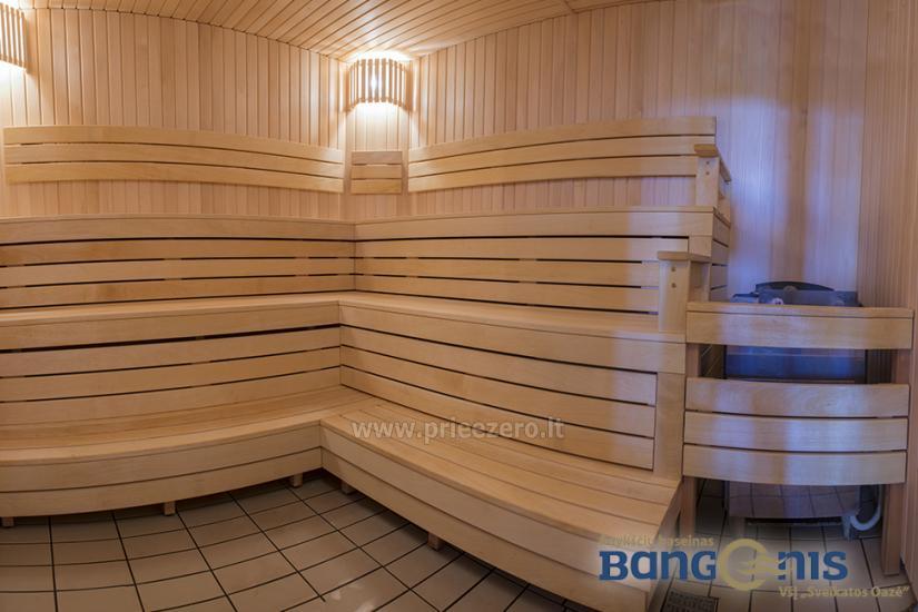 Swimming pool Bangenis in Anyksciai. Gym, baths, jacuzzi - 15