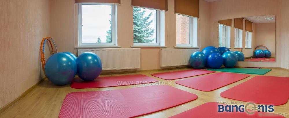 Swimming pool Bangenis in Anyksciai. Gym, baths, jacuzzi - 18