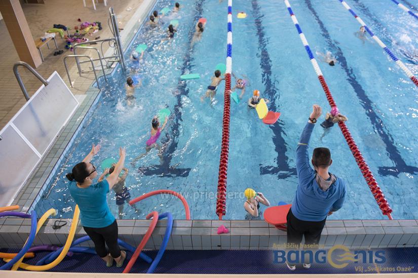 Swimming pool Bangenis in Anyksciai. Gym, baths, jacuzzi - 6