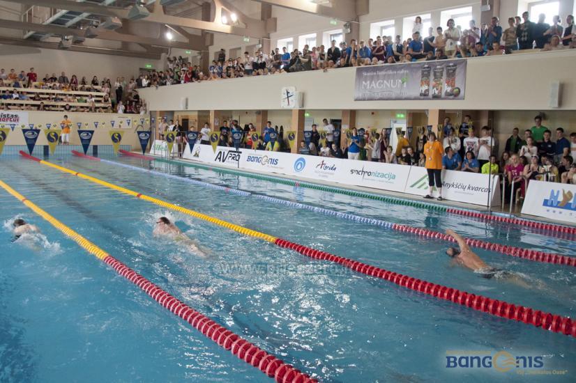 Swimming pool Bangenis in Anyksciai. Gym, baths, jacuzzi - 7
