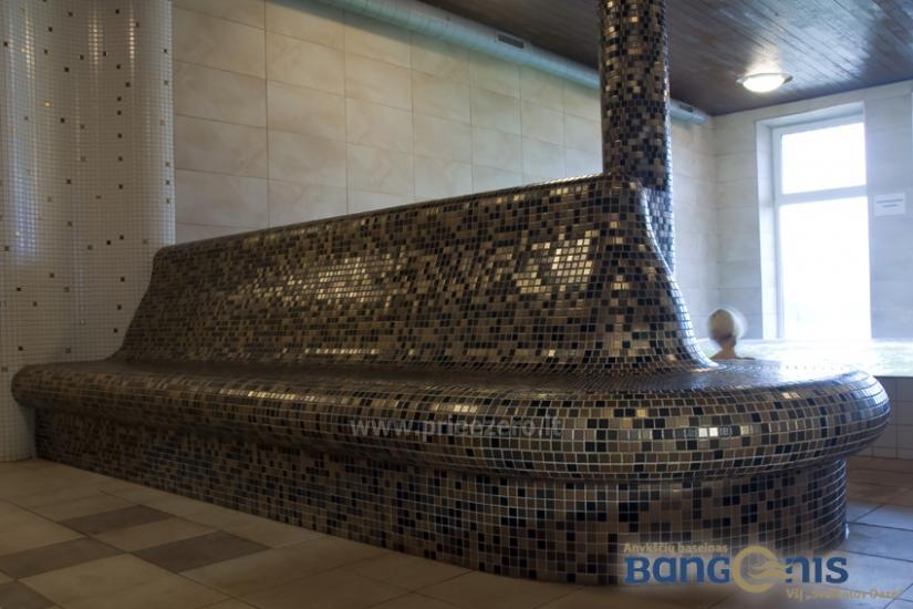 Swimming pool Bangenis in Anyksciai. Gym, baths, jacuzzi - 12