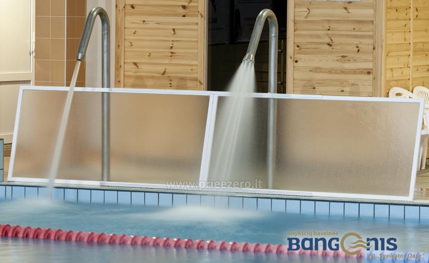 Swimming pool Bangenis in Anyksciai. Gym, baths, jacuzzi - 8